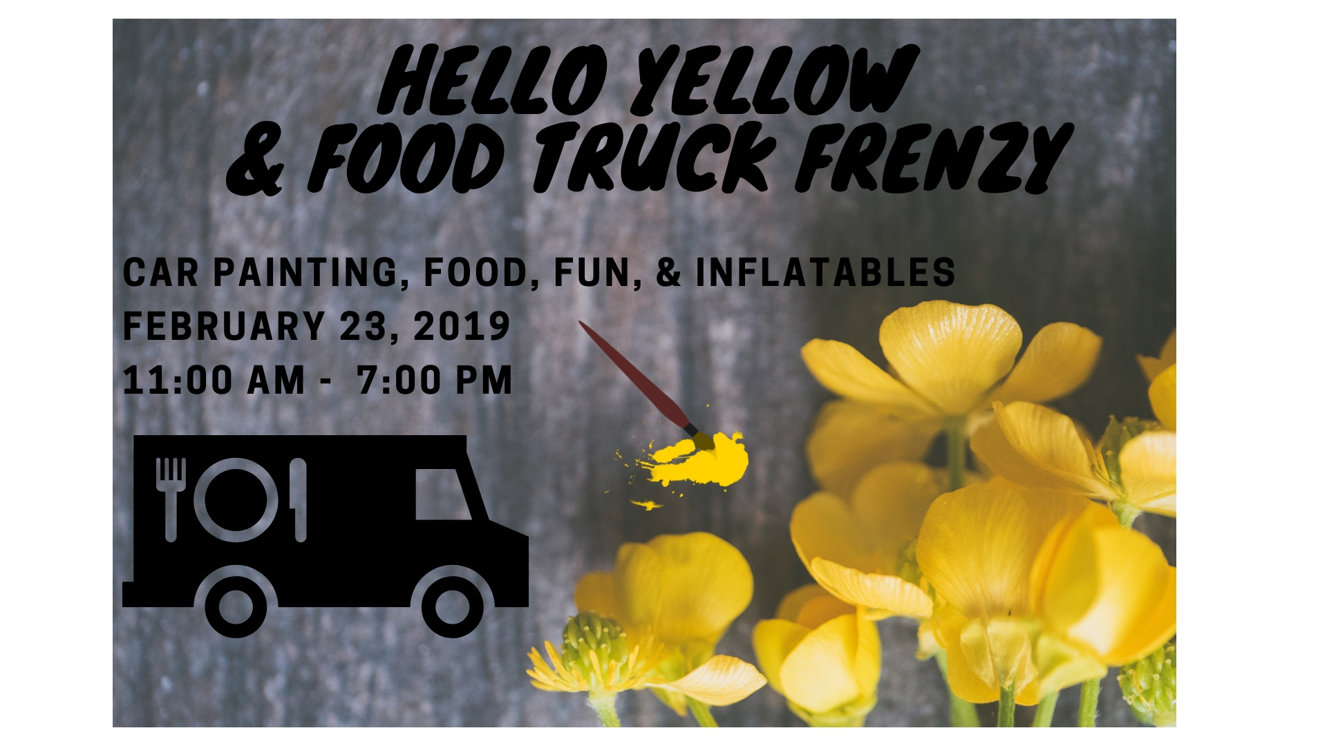 Hello Yellow & Food Truck Frenzy