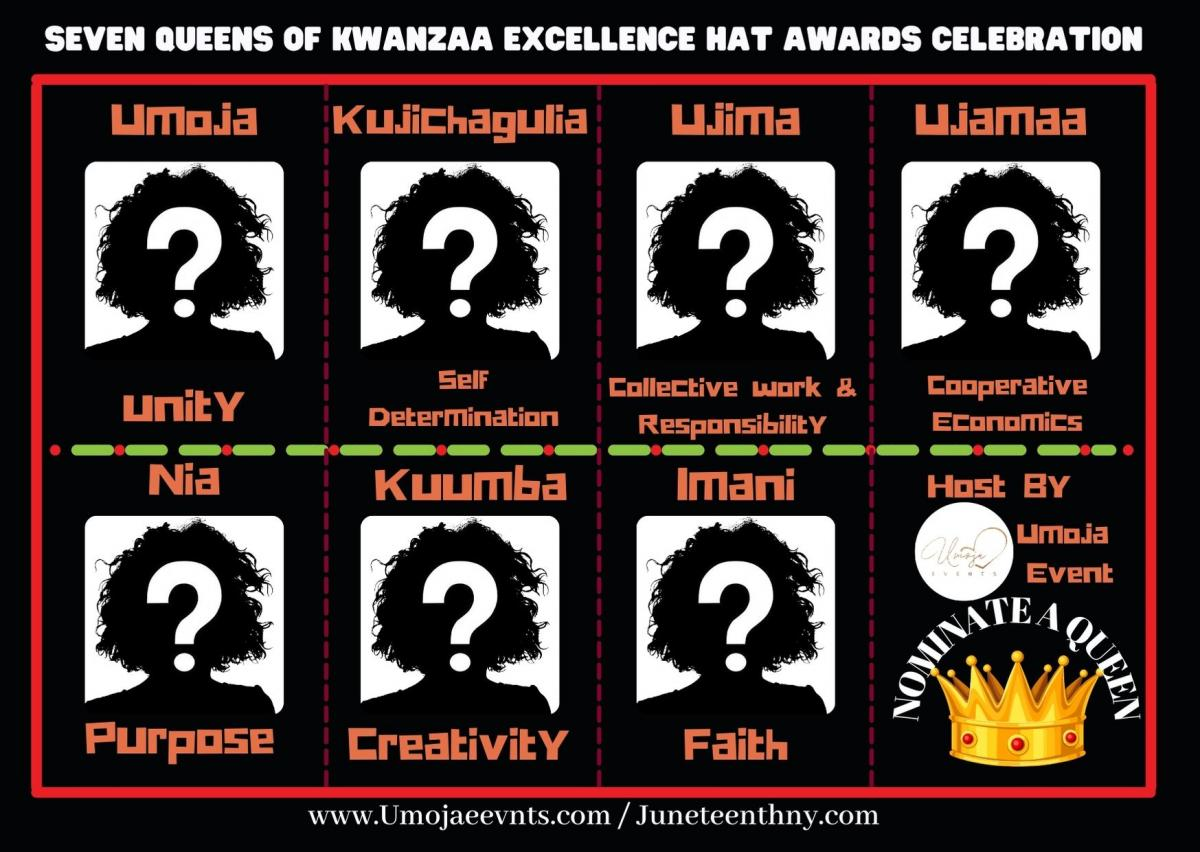 Seven Queens of Kwanzaa Excellence Hat Awards Celebration