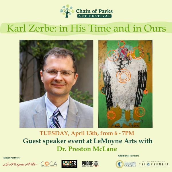 Karl Zerbe: in His Time and in Ours