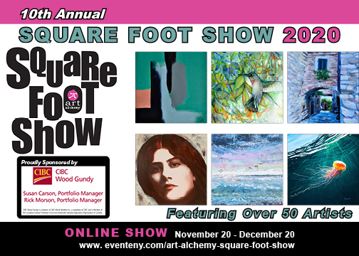 ART Alchemy Studio Square Foot Show 2020