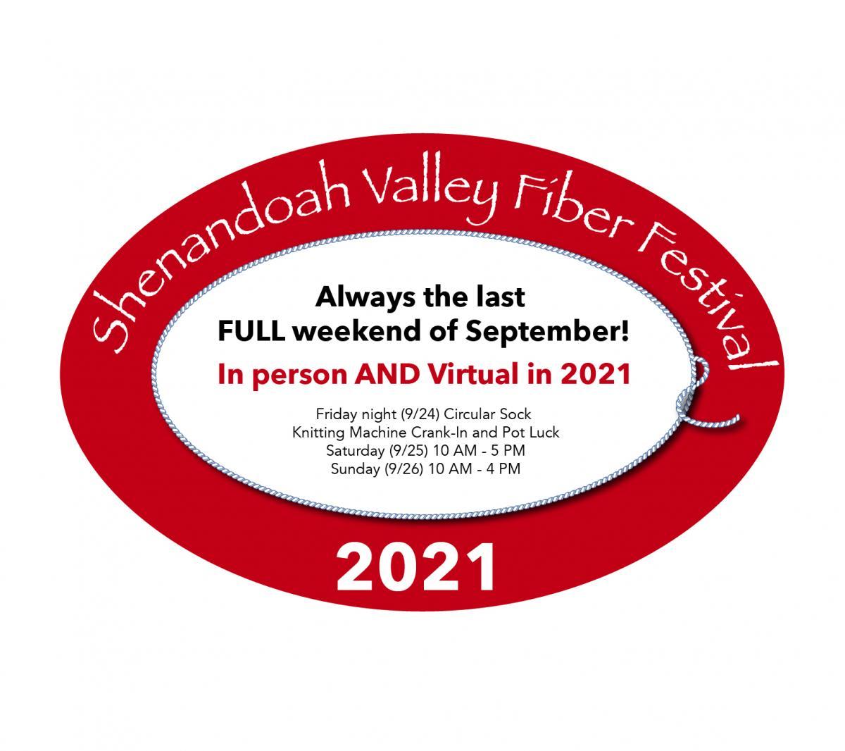 2021 Shenandoah Valley Fiber Festival