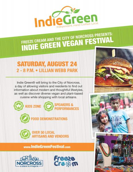 Indie Green Vendor Application Norcross