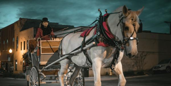 Holiday Carriage Rides December 11 and 12