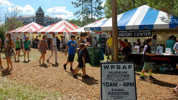 The 62nd Winter Park Sidewalk Art Festival: Children's Workshop