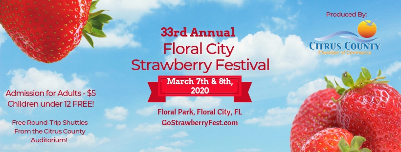 Strawberry Festival 2020 Dates.Floral City Strawberry Festival Eventeny