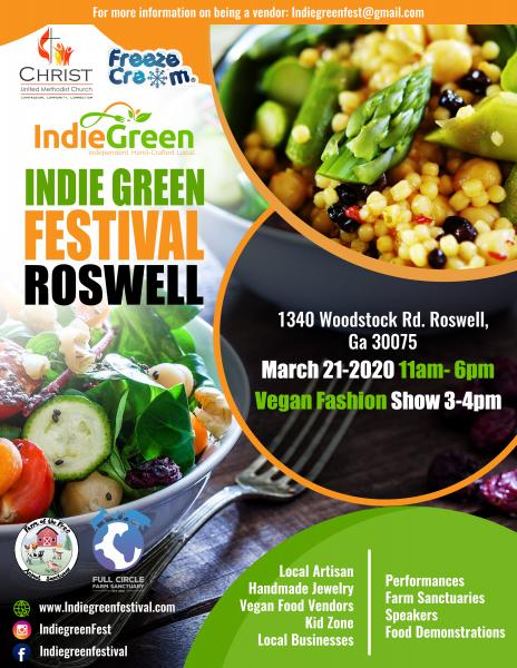 Indie Green Vendor Application - Roswell