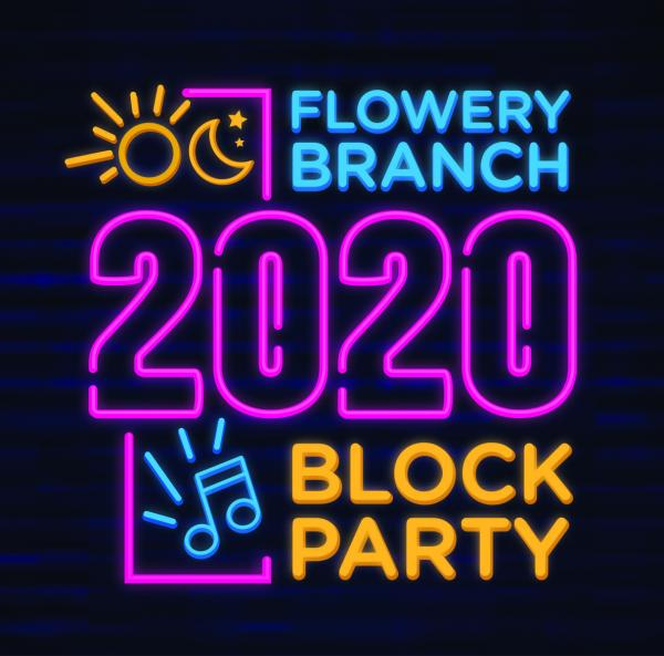 Flowery Branch Block Party - October