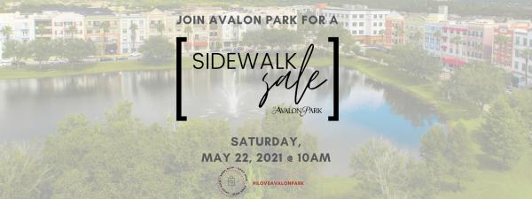 Sidewalk Sale-May