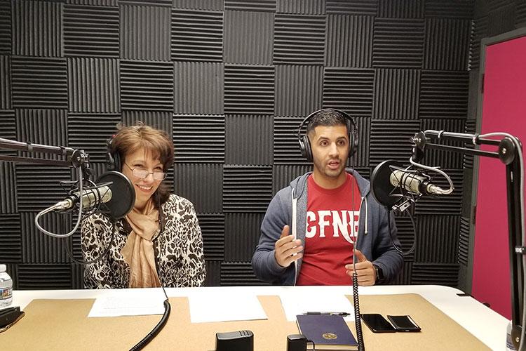 Alta Schwartz and Akram Ibrahim