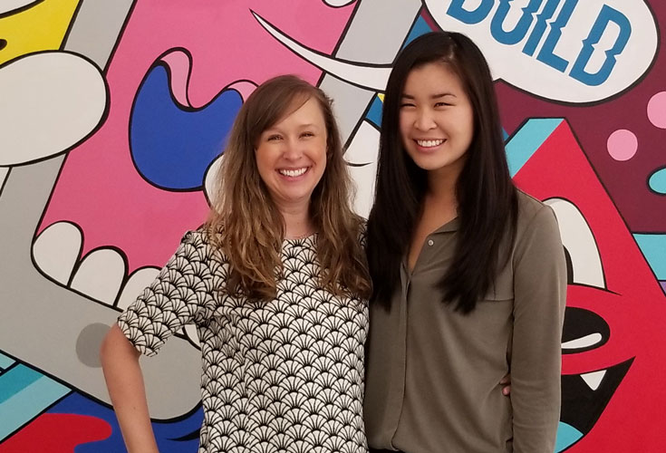 Emily Dillard and Hilary Lew