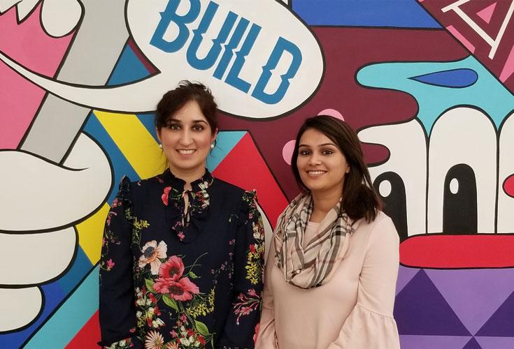 Nisha Khan and Fatima Wasim