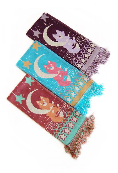 Fox on the Moon Scarf