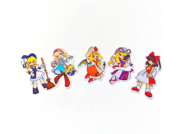 Touhou Project Holographic Stickers picture