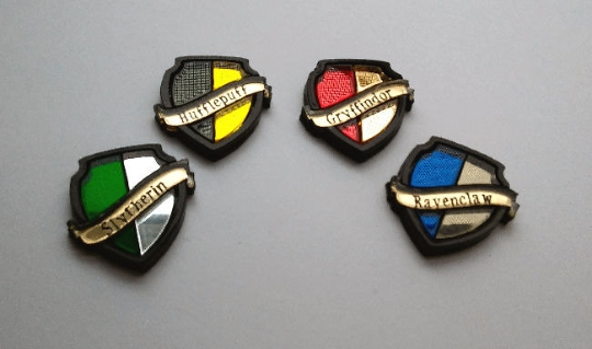 H.P. House Shield Pins