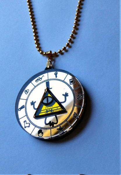Bill Cipher Containment Necklace