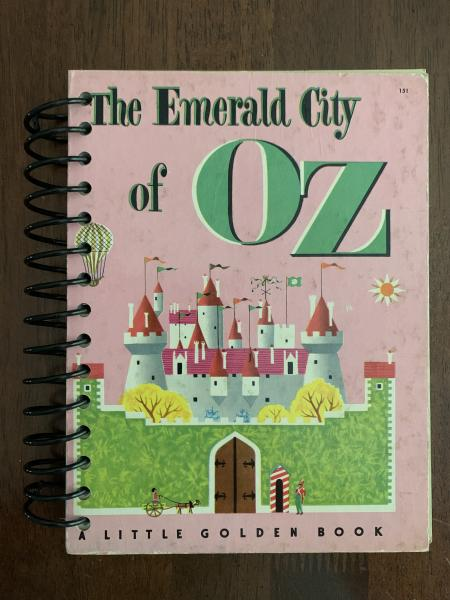 Emerald City of Oz Full Book Journal