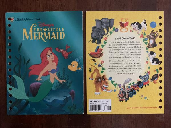 Ariel, The Little Mermaid: Made to Order Journal (3 covers to choose from)