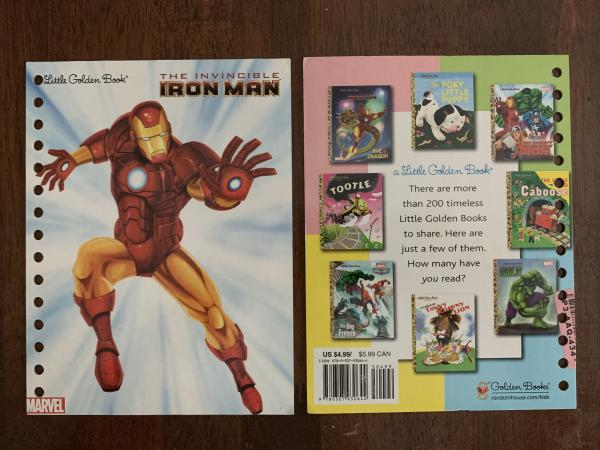 Ironman: Made to Order Journal