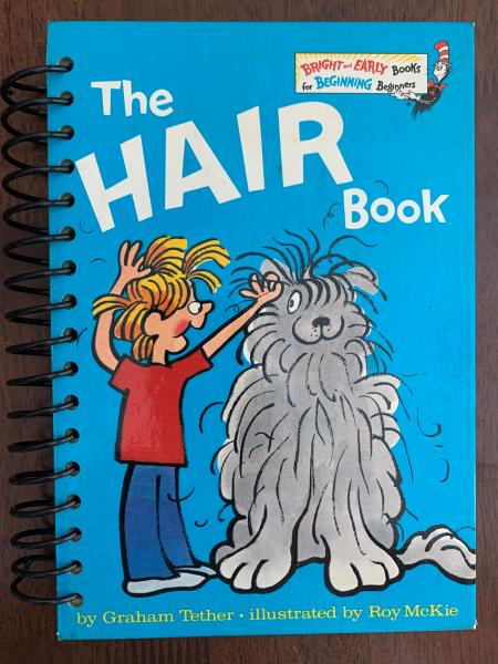 The Hair Book Full Book Journal