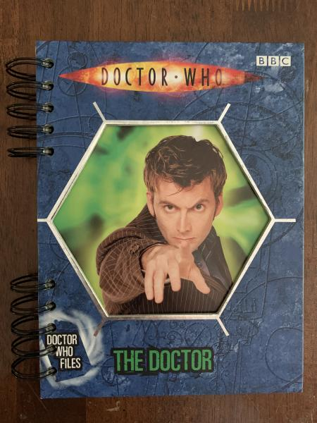 Doctor Who Files: 'The Doctor' full Fact File Journal