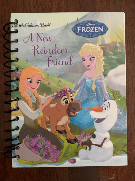 Frozen - An New Reindeer Friend Full Book Journal