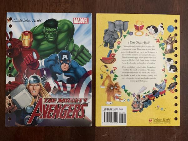 The Mighty Avengers: Made to Order Journal