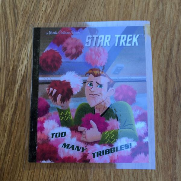 Star Trek - Too Many Tribbles hand-cut paper flower bouquet picture