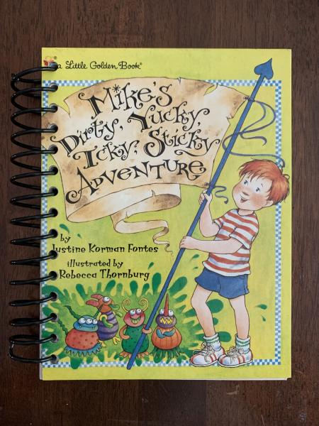 Mike's Dirty, Yucky, Icky, Sticky Adventure Full Book Journal