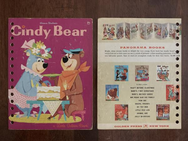 Cindy Bear: Made to Order Journal (2 covers to choose from)