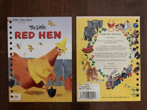 Little Red Hen: Made to Order Journal