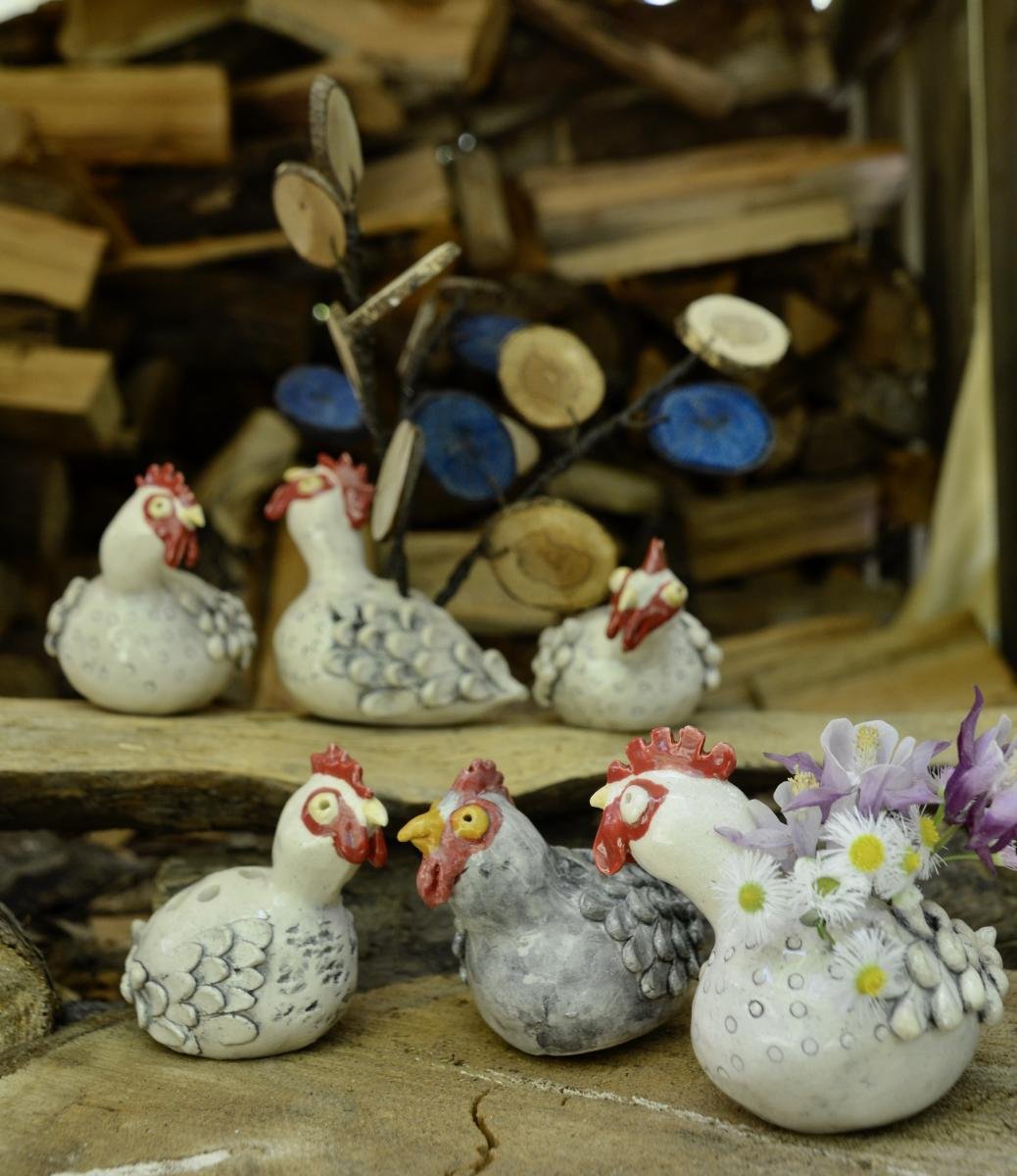 Chickens decoration