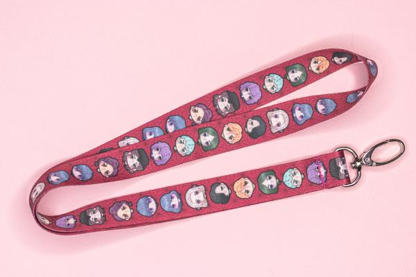 3 Houses Lanyards