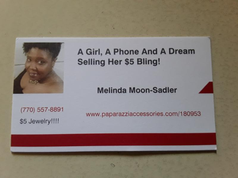 A Girl, A Phone And A Dream Selling Her $5 Bling!
