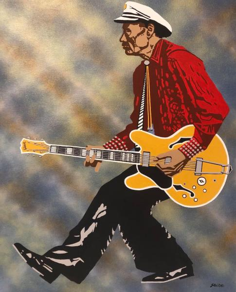"""Johnny B. Goode"" by John Saude"