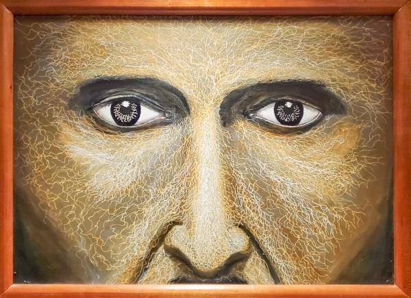"""The Eyes of Nikola Tesla"" by TJ Haugh"