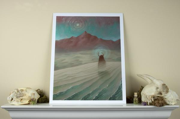 Distant Memory of Tranquility  11 x 14 Fine Art Giclee Print