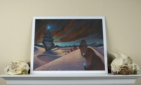 Astral Procession 11 x 14 Fine Art Giclee Print