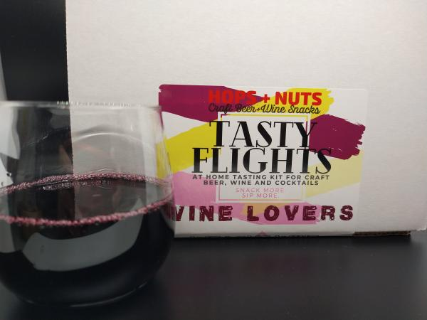 Tasty Flights At-Home Tasting Kit WINE LOVERS ~ (3) 4.2 oz Pouches