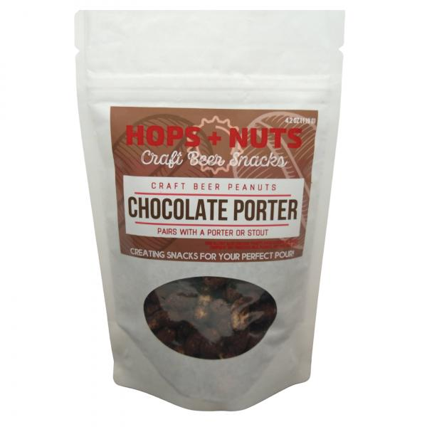 Chocolate Porter Peanuts 4.2 oz Pouch
