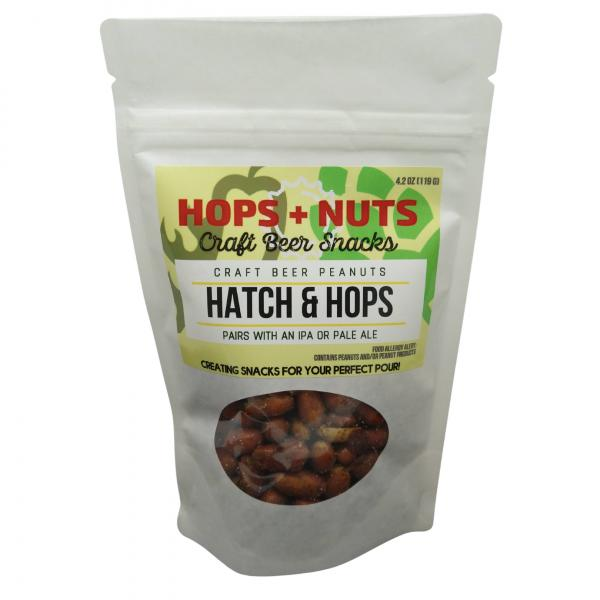 Hatch and Hops Peanuts 4.2 oz Pouch
