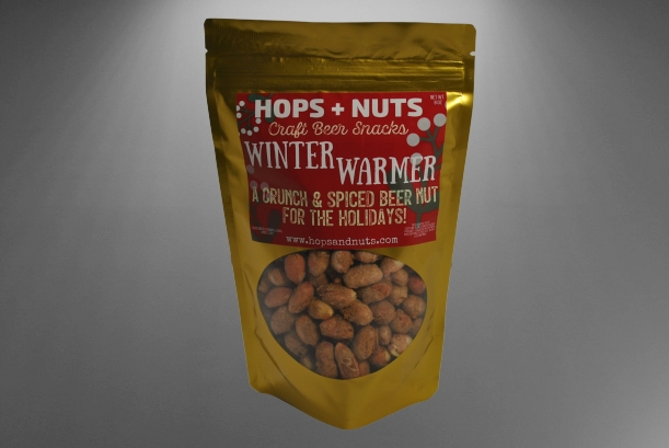 Winter Warmer Holiday Peanuts 8 oz Pouch