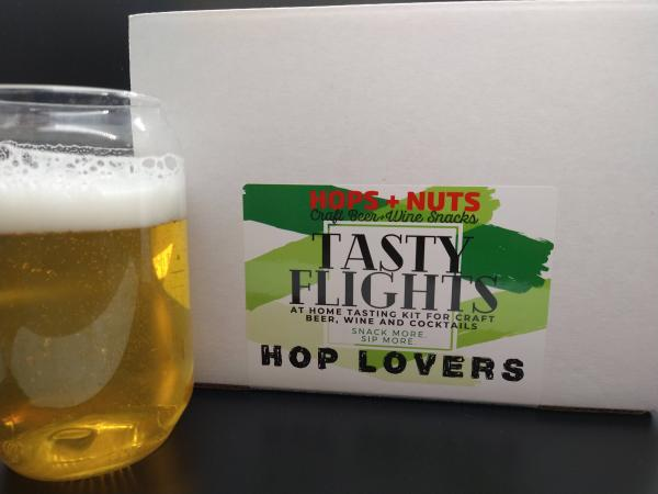 Tasty Flights At-Home Tasting Kit HOP LOVERS ~ (3) 4.2 oz Pouches