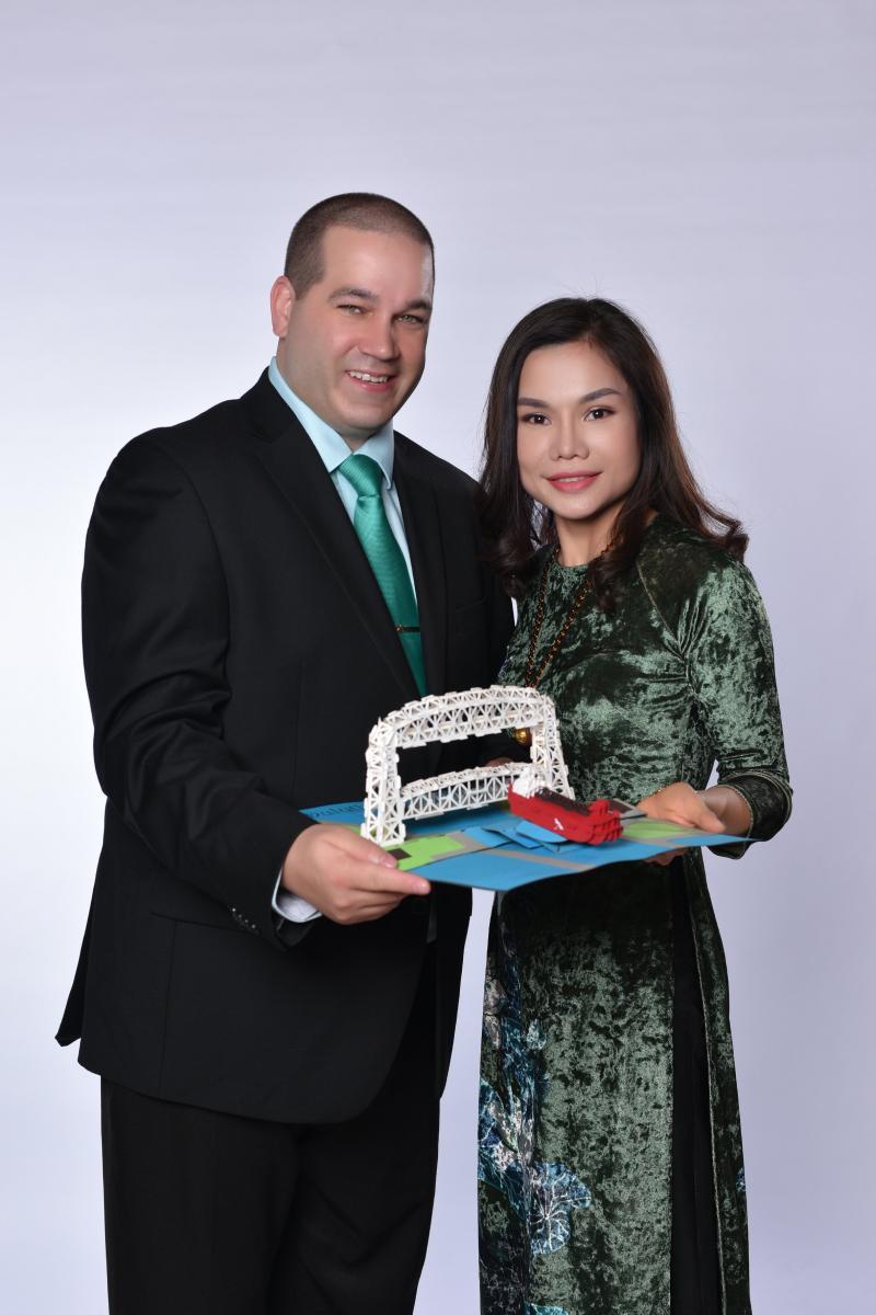 Sean and Trang Nguyen
