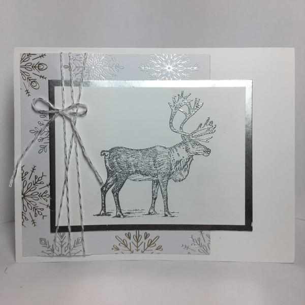 Stillness of the Season - Reindeer