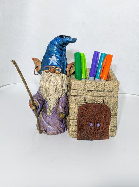 Wizard Pen Holder/Planter picture