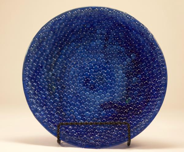 Blue Bubble Bowl