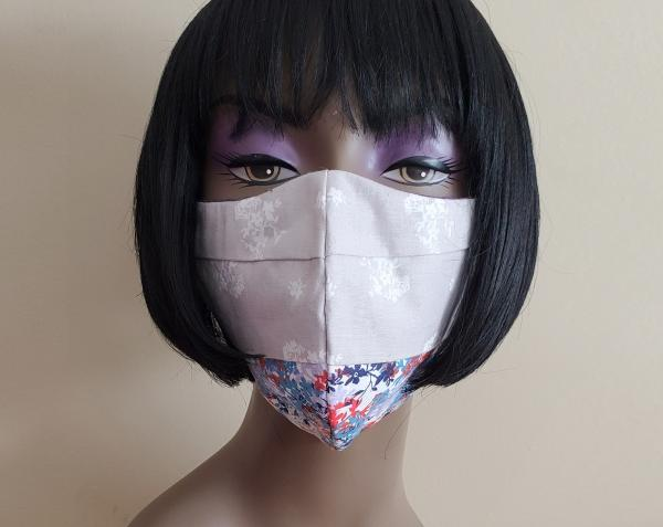 Face Mask with Filter - Washable - Made in the USA - Adult Face Mask with Nose Wire