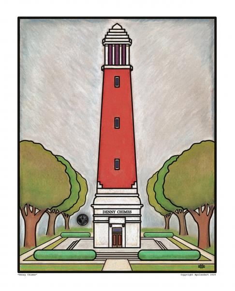 "Denny Chimes 8x10"" fine art print officially licensed"