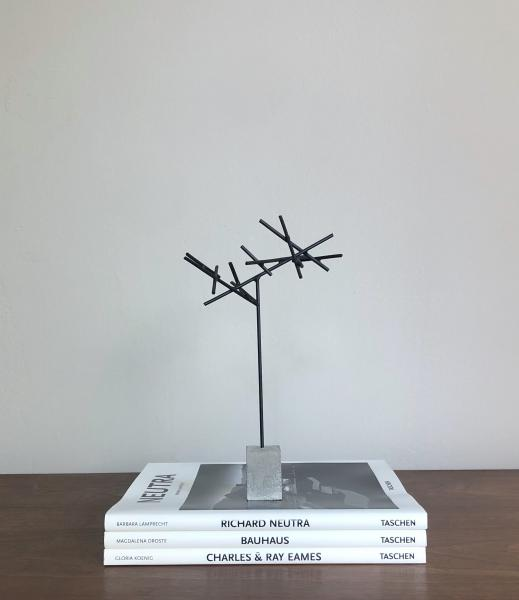 Small Abstract Metal Sculpture I