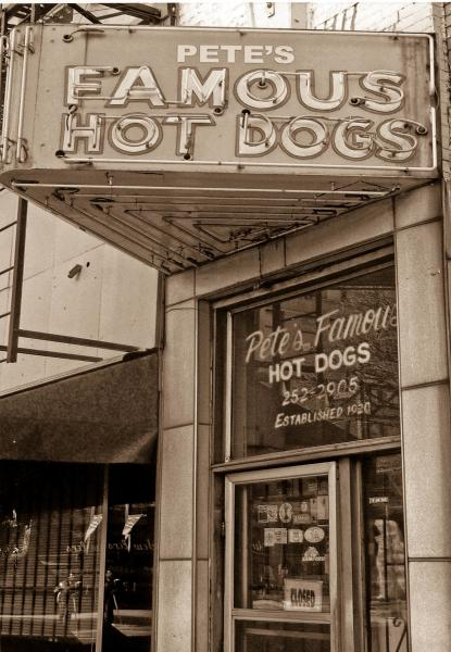 Pete's Famous Hot Dogs